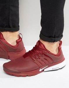 Красные кроссовки Nike Air Presto Utility 862749-600 - Красный