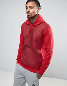 Худи без застежки с логотипом Nike Jordan Jumpman 834369-687 - Красный