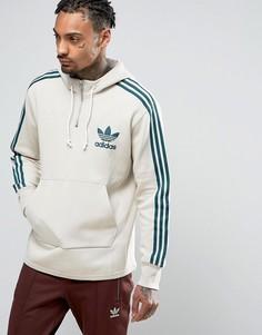 Худи бежевого цвета adidas Originals AC BK7193 - Бежевый