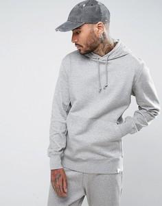 Худи серого цвета без застежки adidas Originals X By O BQ3084 - Серый
