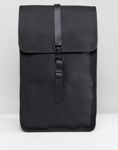 Черный рюкзак Rains - Черный