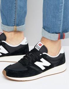 Черные кроссовки в стиле 70-х New Balance Running 420 MRL420SD - Черный
