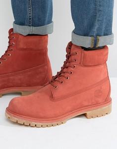 Премиум-ботинки Timberland Classic 6 дюйма - Красный