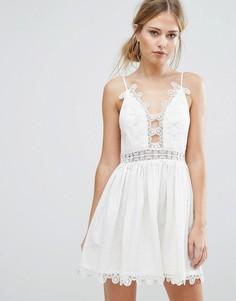 Платье Finders Odelle - Белый