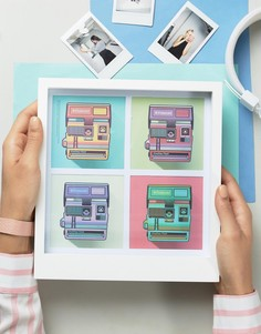 Рамка для 4 полароидных фотографий - Мульти Polaroid