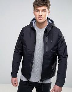 Куртка с капюшоном и скрытыми карманами Celio - Черный