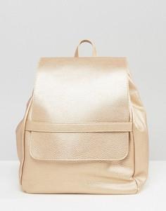 Рюкзак с отделкой металлик Liquorish - Золотой