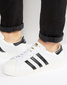 Белые кроссовки adidas Originals Superstar Boost BB0188 - Белый