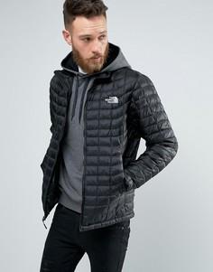 Черная стеганая куртка The North Face Thermoball - Черный