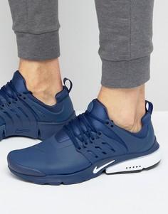 Синие кроссовки Nike Air Presto Utility 862749-400 - Синий