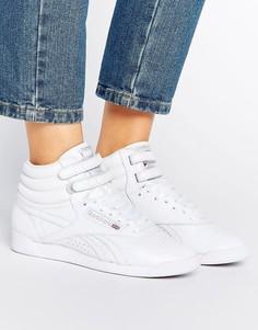 Белые высокие кроссовки Reebok Lux Freestyle Og - Белый