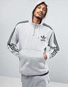 Худи серого цвета adidas Originals AC Terry BK7192 - Серый