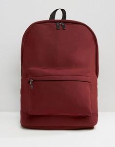 Бордовый рюкзак ASOS - Красный