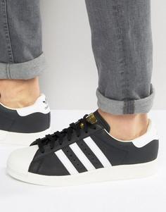 Черные кроссовки adidas Originals Superstar Boost BB0189 - Черный