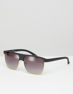Квадратные солнцезащитные очки Jeepers Peepers - Черный