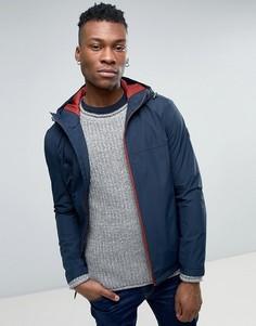 Узкая куртка-дождевик с капюшоном Timberland - Темно-синий
