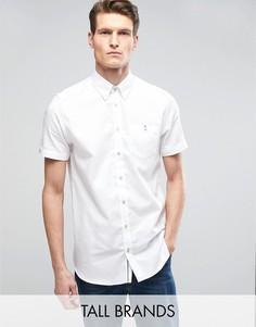 Строгая рубашка с короткими рукавами Ted Baker TALL - Белый