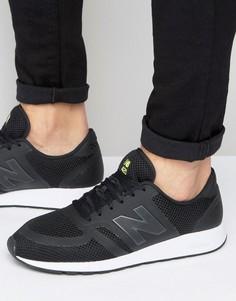 Черные кроссовки в стиле 70-х New Balance 420 MRL420BR - Черный