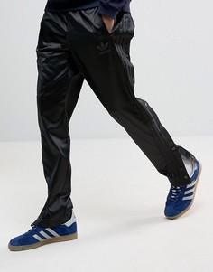 Черные джоггеры с кнопками adidas Originals AC BK0026 - Черный