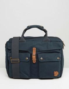 Темно-синяя сумка для ноутбука Fjallraven Greenland 14L - Темно-синий