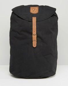 Черный рюкзак объемом 15 литров Fjallraven Greenland - Черный