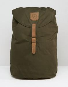 Рюкзак хаки объемом 15 литров Fjallraven Greenland - Зеленый