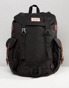 Вельветовый рюкзак Doughnut Woodland - Черный