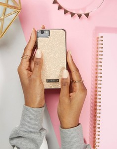 Чехол для iPhone 6/6S/7 с блестками персикового цвета Skinnydip - Мульти