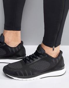 Черные кроссовки с принтом Reebok Running BD4532 - Черный