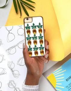 Чехол для iPhone 6/6S/7 с ананасами Skinnydip - Мульти