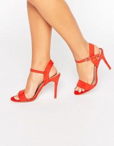 Босоножки на каблуке Miss KG - Оранжевый