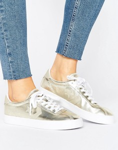 Кеды цвета металлик Converse Breakpoint Ox - Золотой