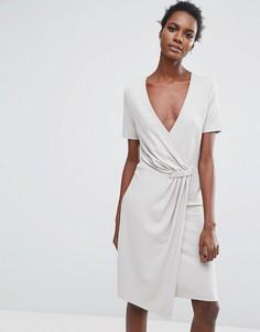 Платье Selected - Серый