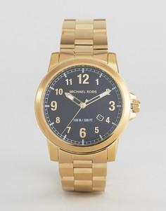 Золотистые часы-браслет Michael Kors MK8555 - Золотой