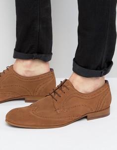 Замшевые туфли дерби Ted Baker Granet - Рыжий