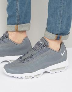 Серые кроссовки Nike Air Max 95 857910-007 - Серый