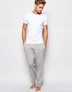 Хлопковые брюки классического кроя Tommy Hilfiger Icon - Серый
