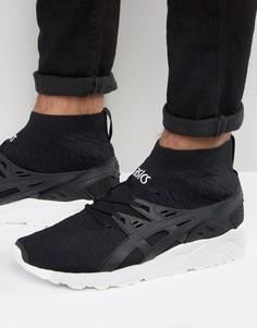Черные вязаные кроссовки Asics Gel-Kayano H7P4N 9090 - Черный