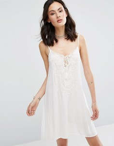 Платье на бретельках Raga Sheer Love - Белый