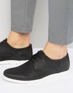 Кожаные туфли Dune Barny - Черный