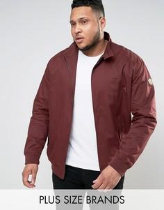 Бордовая куртка Харрингтон Duke PLUS - Красный
