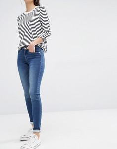 Облегающие джинсы с классической талией Only Royal - Синий