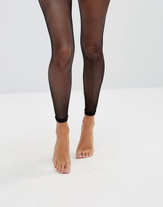 Сетчатые колготки без носка ASOS - Черный