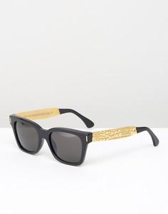Солнцезащитные очки RetroSuperFuture America Francis - Черный