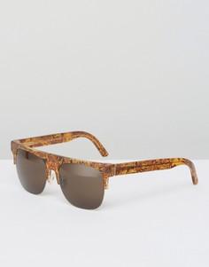 Солнцезащитные очки RetroSuperFuture Andrea - Коричневый