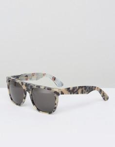 Солнцезащитные очки с плоским верхом RetroSuperFuture Miracolo - Коричневый