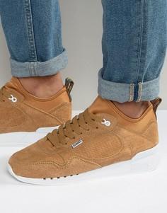 Светло-коричневые кроссовки Djinns Single Skin - Рыжий