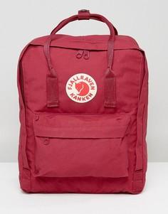 Красный рюкзак объемом 16 л Fjallraven Kanken - Красный