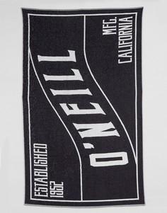 Пляжное полотенце с логотипом ONeill - Черный Oneill
