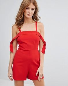 Комбинезон с завязками Millie Mackintosh - Красный